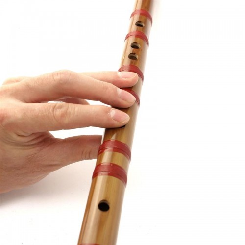 Flaut bambus instrument muzical traditional chinezesc